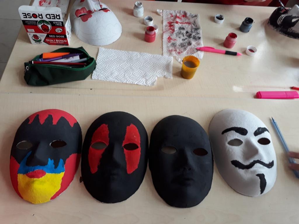 6 Siniflar Maske Etkinligi Sehit Polis Nevzat Alagoz Ortaokulu